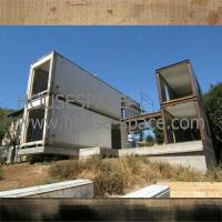 China Modular Steel Container House With Curtain Wall AND Stainless Steel Staircase in Africa wholesale