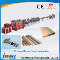 China Jwell PS foamed picture frame extrusion line wholesale