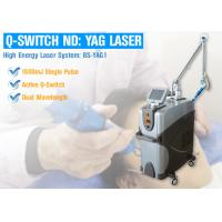 China Powerful Q Switched ND YAG Pico Laser Machine For Pigmentation With 1064 Laser Treatment on sale