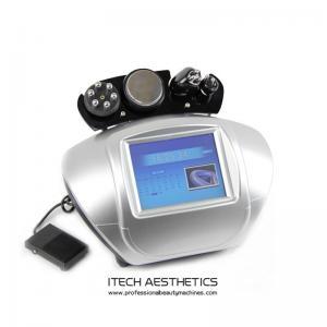 40KHz Cavitaion 5MHz Multipolar RF Cellulite Reduction Equipment Beauty Salon Use