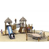China Games Wooden Playground Fitness Equipment Kai Qi Playground Non- Toxic Medium Size wholesale