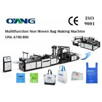 China High Speed Automatic Non Woven Bag Making Machine wholesale