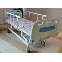"""Buy cheap ABS head and foot board 5"""" castors 4 cranks hospital medical bed with aluminum from wholesalers"""