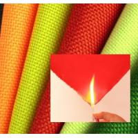 China 300D Polyester oxford fabric with PU coated, flame resistant fabric wholesale