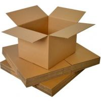 Recycled Corrugated Packaging Boxes Cardboard Box For Mail / Transport / Shipping