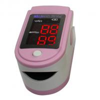 China Infant Pink Finger Tip Pulse Oximeters With SpO2 Probe wholesale