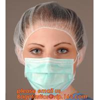 China Medical grade protect dust face mask disposable 3 ply paper mask,non-woven face mask in general medical Individual Packi wholesale