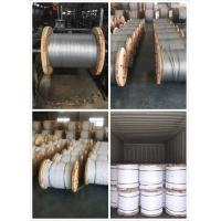 China 9 32 Inch Galvanized Steel Messenger Cable Spring Steel Wire 900-1720 Mpa Tensile Strength on sale