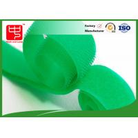 China Flame retardant green industrial strength hook and loop tape roll for firefighter uniform wholesale