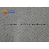 China Bamboo Fiber Spunlace Non Woven Fabrics Needle Punched Small Creped Pattern wholesale