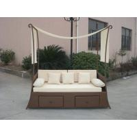 China Balcony Outdoor Rattan Daybed wholesale