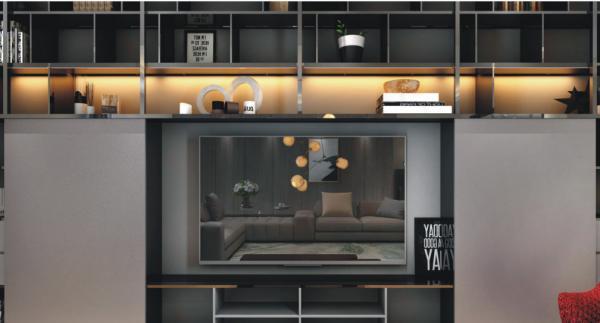 Quality 12V Slim Design Modern Office Pendant Light With Emergency Lighting for sale