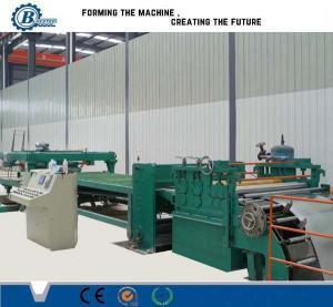 China Adjustable Cut To Length Line 1800mm , Sheet Metal Slitting Machine wholesale