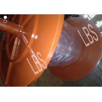 China Marine Steel Offshore Winch Drum 4 Or 5 Layeres With 1320mm Length wholesale