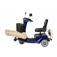 China Hard Floor Dust Cart Scooter With Electric Vehicle Driving Operation wholesale