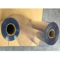 China Customized Size Clear Rigid PVC Sheet Non - Toxic With Excellent Performance wholesale