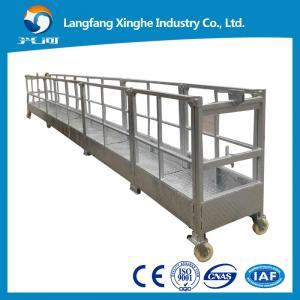 China ZLP630 aluminum suspended scaffolding / zlp800 malyasia gondola / zlp working platform wholesale