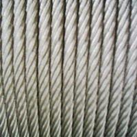 China AISI316 steel wire rope for crane on sale