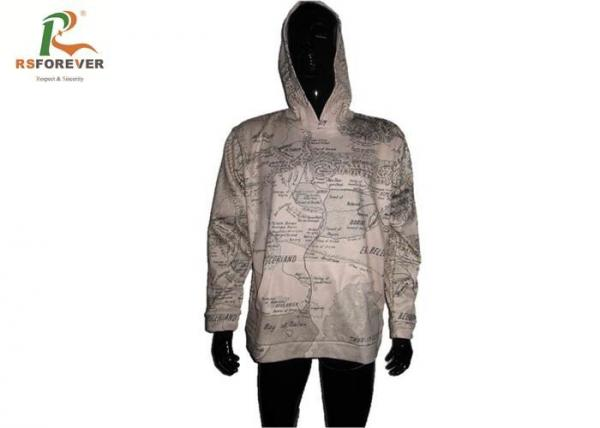 Quality Cut / Sew Dye Sublimation Hoodies , Boys Long Sleeve Hoodie Customzied Design for sale