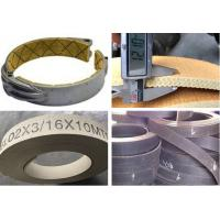 China Flexible Brake Band Lining Woven Roll Lining With Brass Wire Reinforced wholesale