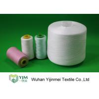 China Low Shrinkage Polyester Industrial Sewing Threads With TFO Or Ring Spun Technics on sale