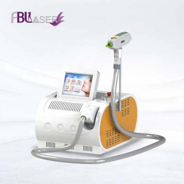 Quality Portable No Injury Tattoo Removal Machine Nd Yag Q-switch 1320nm Skin Whiten for sale