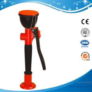 China SH755K1-Lab Deck/bench mounted eye wash,brass on sale