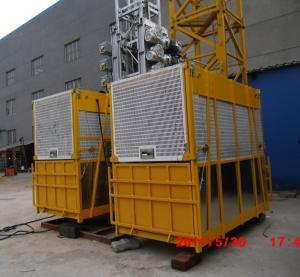 China Alzamiento 2,5 x 1,3 los x 2.5m del elevador del alzamiento de la construcción de VFD/del material de construcción wholesale