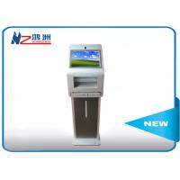 China Self Service Terminal Kiosk Advertising With 42 Inch Interactive Touch Screen wholesale