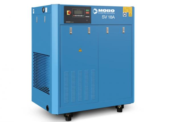 Quality 18kW 8bar Portable Screw Air Compressor With VFD Permanent Magnet Motor For Industrial for sale