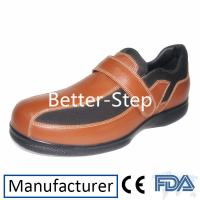 China Better-step Leather Dibaetic Shoes For Men,Soft Lining and Durable Outsole,Fully adaptable,match diabetic shoes insert wholesale
