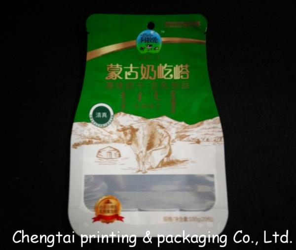Quality Customized Biodegradable Shaped Pouch For Dried Fruit / Sugar QS Approval for sale