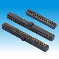 China Straight PBT Female Header Connector , 2.54mm Pin Header H 5 Dual Row on sale