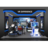 China Entertainment Standing Up 9D VR For Amusement Park Customized Colors wholesale