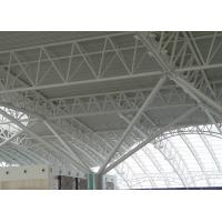 China Airport Terminal Hot Rolled Steel Pipe Trusses Pre Engineered Steel Structure wholesale