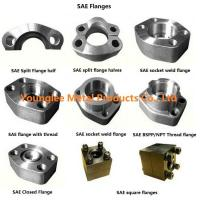 China SAE flanges to standard ISO 6162-1/2, SAE J518C, for hydraulic pipe connection wholesale