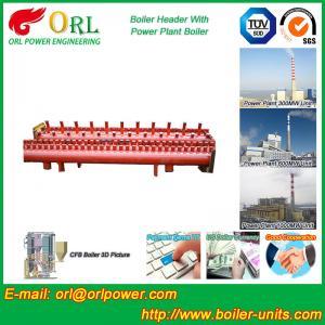 Low Loss Boiler Header Manifolds / Boiler Steam Header Non Pollution