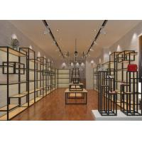 China Interior Decoration Design Shoe Shop Display Stands For Women / Men's Shoes wholesale