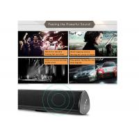 China Wall Mounted RCA Bluetooth Soundbar Speakers With Optical / Coaxial Input wholesale
