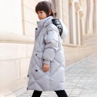 China Chinese Clothing Manufacturers White Duck Down Padding Long Winter Coats Kids Fashion Down Jacket For Boys wholesale