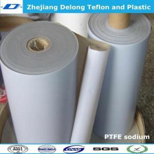 China sodium PTFE sheet stick to rubber metal wholesale