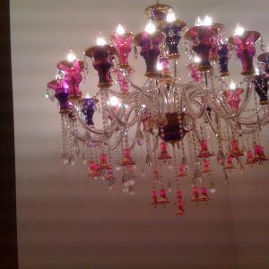 China Gold color zinc alloy candle chandelier wholesale