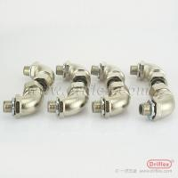 China Liquid tight flexible wire conduit Nickel plated Brass Connector brass hose pipe connectors wholesale