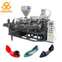 China Single Color Ladies Jelly Shoe sandals Manufacturing Machines 10Cm/S Injection Speed on sale