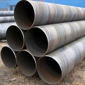 China ASTM A53/106 anti-corrosion welded carbon Spiral steel pipe wholesale