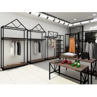 China Professional Retail Clothing Display Units Steel Display Shelves For Women Clothing Store wholesale