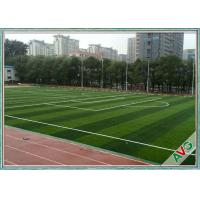 China PE Soft Good Rebound Resilience Artificial Football Turf Excellent UV Resistance wholesale