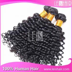 Cheap Leis hair virgin brazilian deep curl hair weaving