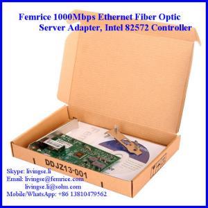 China Femrice 1G Ethernet Single Port PCI Express x4 Workstation Application Network Adapter wholesale