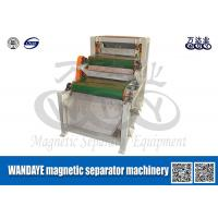 Double Layer Conveyor Belt Magnetic Separator , Magnetic Roll Separator